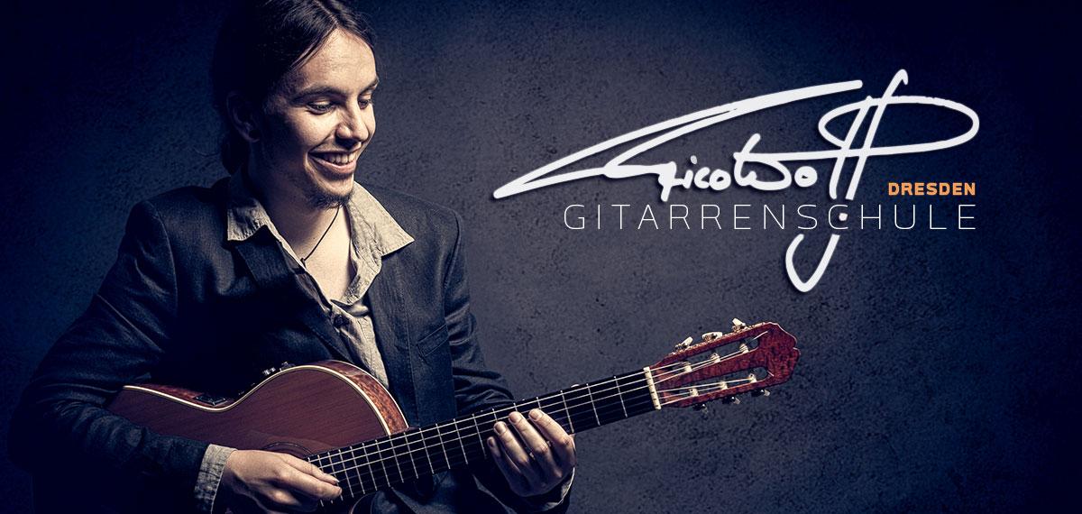 Rico Wolf - Gitarrenlehrer & Musiker aus Dresden