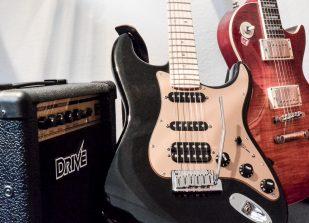 E-Gitarren in der Musikschule Rico Wolf